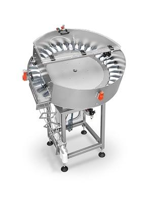 système d'alimentation centrifuge