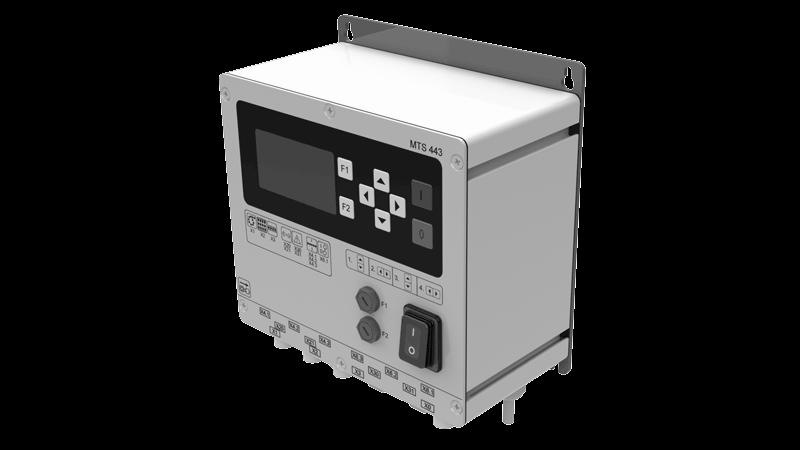 controle para unidades de vibração