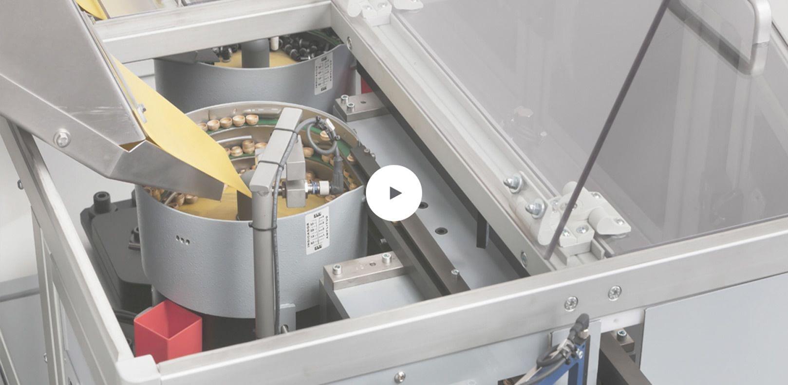 informação video da maquinaria da logística do tad