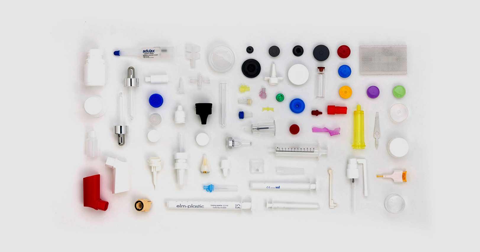 Produtos farmacêuticos feitos com maquinaria elétrica especial