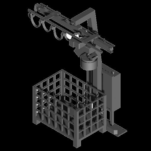 Carregador eletromagnético para trabalho adequado