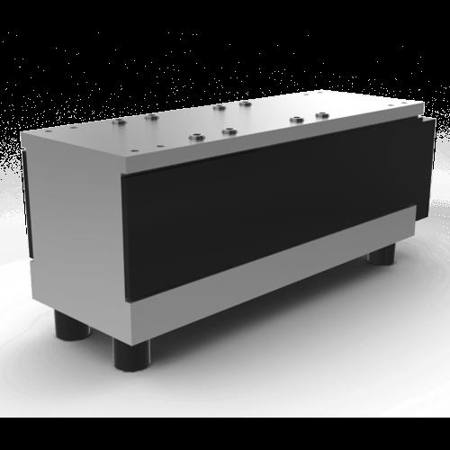 Vibradores lineares para guias fabricados em TAD