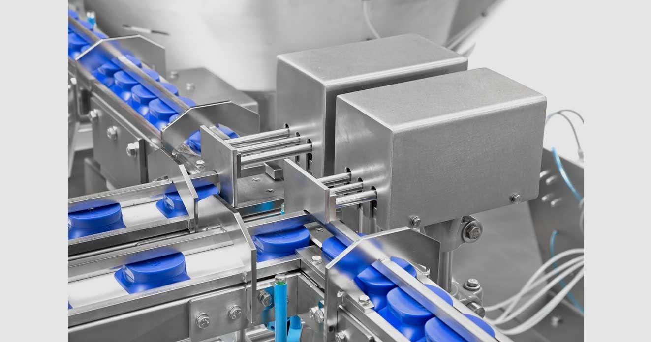 máquinas para transporte de produtos do setor de alimentos e bebidas